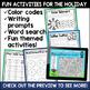 Earth Day Literacy and Math No Prep Mini Unit for Second Grade