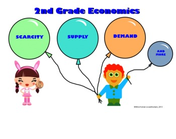 Second Grade Economics - Supply, Demand,... by Mike Hyman ...