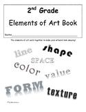 Second Grade Elements of Art Book
