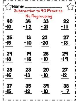 Second Grade Emergency Sub Plan Worksheet Set *NO Prep*