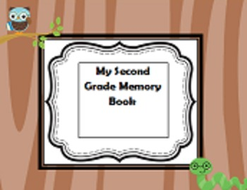 Second Grade  End-of-Year Autograph and Memory Book