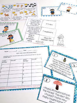 Second Grade End of Year Mega Math Review Printables and More