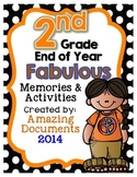 Second Grade - End of the School Year Activities and Awards