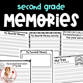 An End of Year Memory Book Second Grade
