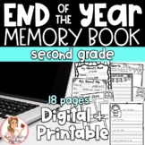 End of Year Memory Book Second Grade