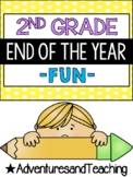 Second Grade End of the Year Writing and Fun Pack