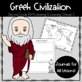 Second Grade Engage NY ELA: Greek Myths Domain 3 Greek Civilization