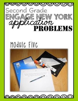 Second Grade Engage NY Eureka Application Problem Strips Module Five