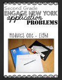 Second Grade Engage NY Eureka Application Problem Strips Module One-Eight BUNDLE