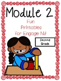 Second Grade, Engage NY, Module 2, Fun Printables and Test