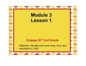 Second Grade Engage NY Math Module 3 NOTEBOOK (SMARTboard) File