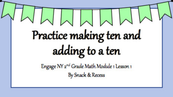 Second Grade Engage NY PowerPoint Module 1 Lesson 1