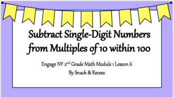 Second Grade Engage NY PowerPoint Module 1 Lesson 6
