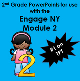 Engage New York inspired  Second Grade Powerpoints for Mod