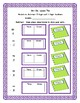 Second Grade Envision Math 2.0 Unit Six Extra Practice Sheets