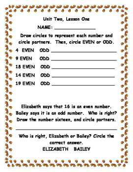 Second Grade Envision Math 2.0 Unit Two Extra Practice Sheets | TpT