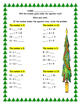 Second Grade Envision Math Units One Through Four Assessment Review