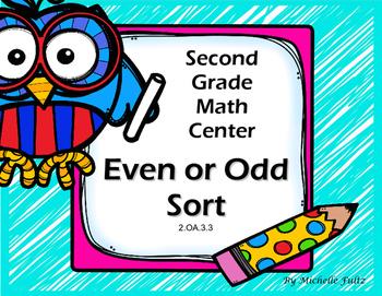 Second Grade Even or Odd game