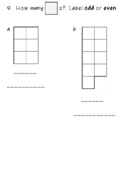 Second Grade Everyday Math Unit 1 Review