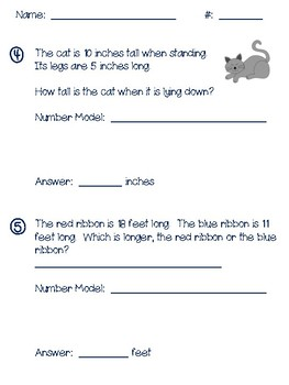 Second Grade Everyday Math Unit 6 Math Review