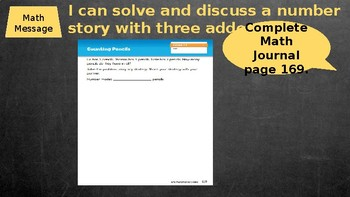 Second Grade Everyday Math Unit 7 Lesson 2 PowerPoint