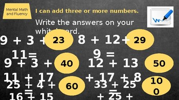 Second Grade Everyday Math Unit 7 Lesson 9 PowerPoint