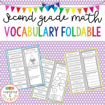 Second Grade Math Vocabulary