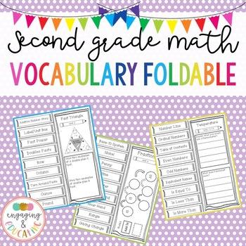 Second Grade Math Vocabulary