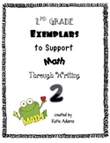 Second Grade Exemplars to Support Math Common Core Through Writing 2