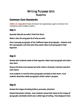 Second Grade Expository Writing Unit
