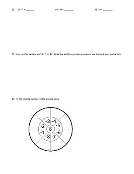Second Grade Extra Practice Pages