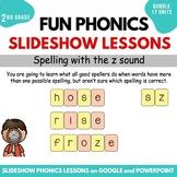 Second Grade FUN Phonics Slideshow Lessons Bundle