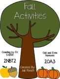 Second Grade Fall Activities