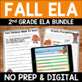 Fall Literacy Pack: No Prep Second Grade