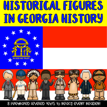 Famous Georgians Informational & Nonfiction Texts and Comprehension Assessments