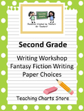 Second Grade Fantasy Fiction Writing Paper (Lucy Calkins Inspired)