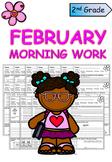Second Grade February Morning Work
