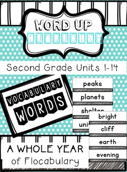 Second Grade Flocabulary Words Units 1-14
