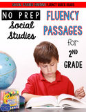 Second Grade Fluency Passages for Social Studies