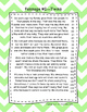 Second Grade Fluency and Comprehension Passages FREEBIE DORF