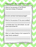 Second Grade Fluency and Comprehension Passages Set B (Passages 11-20) DORF