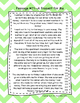 Second Grade Fluency and Comprehension Passages Set C (Passages 21-30) DORF
