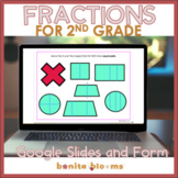 Second Grade Fractions Google Slides and Forms