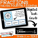 Second Grade Fractions Halves, Fourths, and Eighths TEKS B