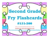 Second Grade Fry Word Flashcards #151-300