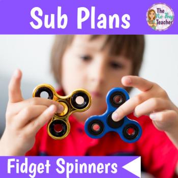 Sub Plans 2nd Grade Fidget Spinners