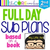 Second Grade Full-day Sub Plans (ELA, Math, Science, SS, A