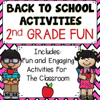 Back To School Activities {2nd Grade}