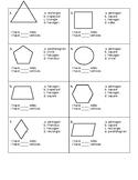 Second Grade Geometry Assessment 2G1 2G2 2G3