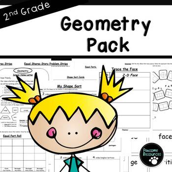 Second Grade Geometry Resource Pack